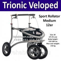 Easy Aluminium Rollyator Trionic Veloped Sport