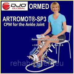Ormed ARTROMOT - SP3 COMFORT CHIP CPM for the ankle joint