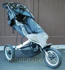 Running carriage of Maclaren Mac 3 Jogger Stroller