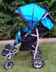 Детская инвалидная коляска для реабилитации детей с ДЦП Umbrella Special Stroller