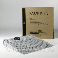 Mobile folding ramp of Vermeiren RAMP KIT 3