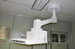The console ceiling for operating rooms - Draeger