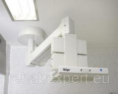 Консоль потолочная для операционных - Draeger - DVE 8010