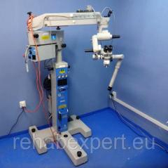 Operational Neurosurgical microscope of Carl Zeiss