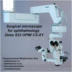 Operational Ophthalmologic Microscope of Zeiss
