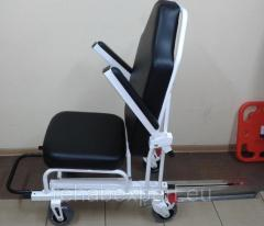 Mobile transport Cardiological chair for