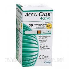 Accu-Chek Active тест-полоска №50 для глюкометров Акку-Чек Актив