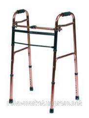 Складные алюминивые ходунки шагающие Vcbp0031 Folding Walking