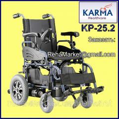 Электроколяска до 30 км. KARMA KP-25.2 Powered Wheelchair