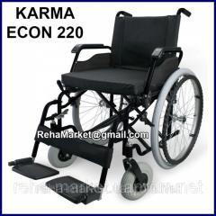 Легкая Алюминиевая Инвалидная Коляска KARMA ECON 220 Wheelchair