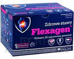 FLEXAGEN the collagen enriched with a complex of