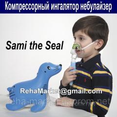 Compressor inhaler of Philips Respironics Sami The