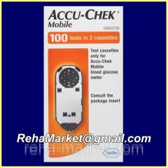 Accu-chek Mobile the Test cartridge to a
