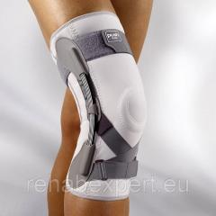 The orthosis on a knee joint of Push med Knee