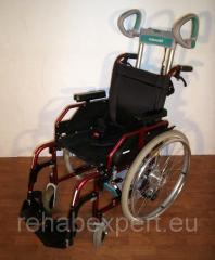Мобильный лестничный подъемник колесного типа Scalamobil S27 с Ультра Легкой Инвалидной Коляской