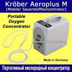 Портативный кислородный концентратор New Kröber Aeroplus M Portable Oxygen