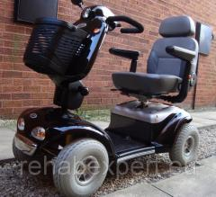 The electric Shoprider Cadiz Electric Scooters