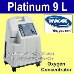 Concentrator of Invacare Platinum 9 L oxygen