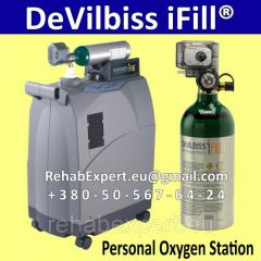 Personal oxygen station DeVilbiss iFill Personal