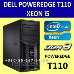 Сервер Dell Poweredge T110 Xeon I5 4X2400 4Gb 146Gb Sas