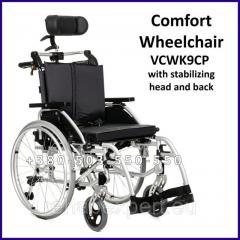 Специальная инвалидная коляска со стабилизацией головы и спины Comfort Wheelchair Vcwk9Cp