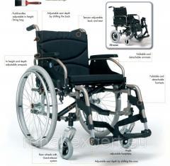 Легкая инвалидная коляска до 130 кг - Vermeiren V300D Light Weight Wheelchair