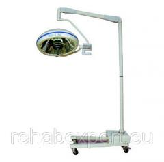 Floor Operational lamp on a mobile support of