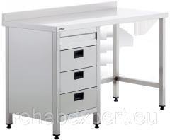 Рабочий стол с ящиками для лабораторных, операционных и смотровых кабинетов Uzumcu 40835