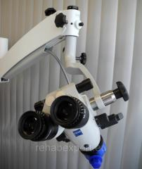 Stomatologic microscope of Carl Zeiss OPMI Pico