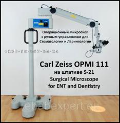 Operational microscope for Stomatology and