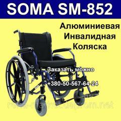 SOMA SM - 852 легкая Алюминиевая Инвалидная Коляска