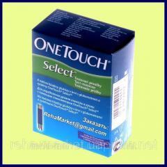 Тест-полоски OneTouch Select 25 шт. для...