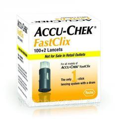 Ланцеты Accu-Chek Fastclix Lancets 100+2
