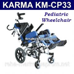 KARMA KM-CP33 Pediatric Wheelchair Алюминиевая Инвалидная Коляска для Детей
