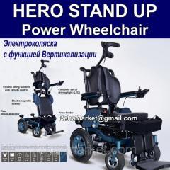 Электроколяска с функцией Вертикализации Meyra Vitea Care HERO STAND UP Power Chair Маx 9,5km