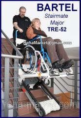 Ступенькоход подъемник лестничный BARTELS Major TRE-52 Устройство для устранения барьеров архитектурных.