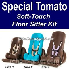 El sentar Special Tomato Soft-Touch Chair...