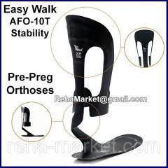 Easy Walk AFO-10T Stability Pre-Preg Orthoses