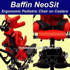 Baffin NeoSit Ergonomic Pediatric Chair on Casters