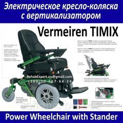 Электрическое кресло-коляска с вертикализатор