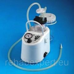 Аспиратор Mevacs M20 - 230/12V  Отсасыватель с внутренней батареей, максимальный расход 18 л / мин!