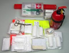 Automobile Set EURO First-aid kit + Fire