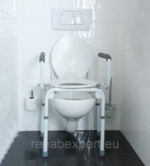 Chair toilet for disabled people of Vermeiren