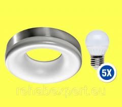 Ceiling Ring Satyna LC2310-1A Lamp + 5X LED 6W