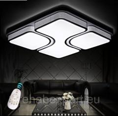 Ceiling LED LED 80W Lamp + remote control