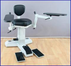 Кресло для оперирующего врача хирургии-Офтальмологии компании Möller-Wedel для Leica мобильное