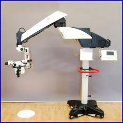 The operational microscope operated electrically