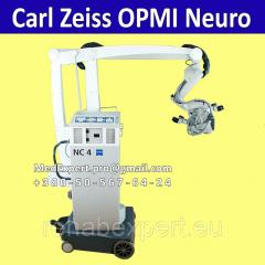 Operational microscope for neurosurgery of Carl