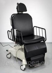 Multiposition electric chair for plastic surgery