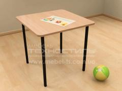 Little table children's for games